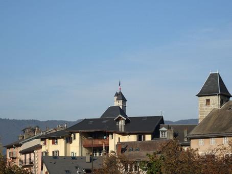 Chambéry sous le soleil d'automne