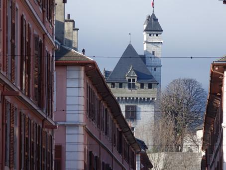 Chambéry, sous le soleil d'hiver #2
