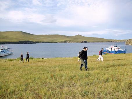Au lac Baïkal J03 Ostrov Ogoy - Khoujir (Ostrov Olkhon)