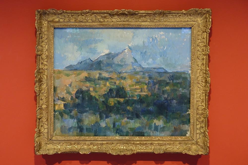 La Montagne Sainte-Victoire vue des Lauves (1902 - 1906] Huile sur toile 65 x 81 cm
