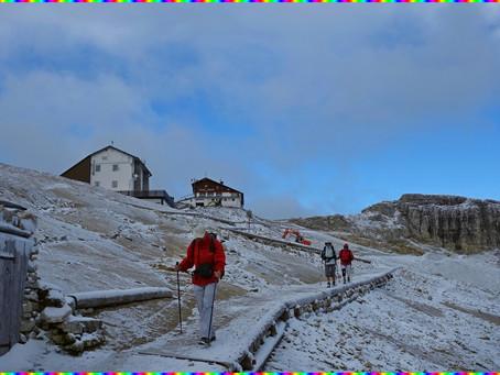 L'Alta Via delle Dolomiti N°1 ~ Du Rifugio Lagazuòi au Rifugio Città di Fiume