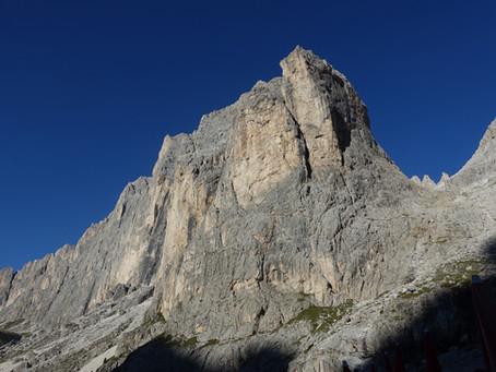 La Traversée du Catinaccio J4 Du rifugio Vajolet au Val di Fassa