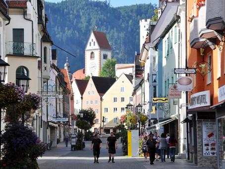 Sur la Deutsche Alpenstraße - Füssen