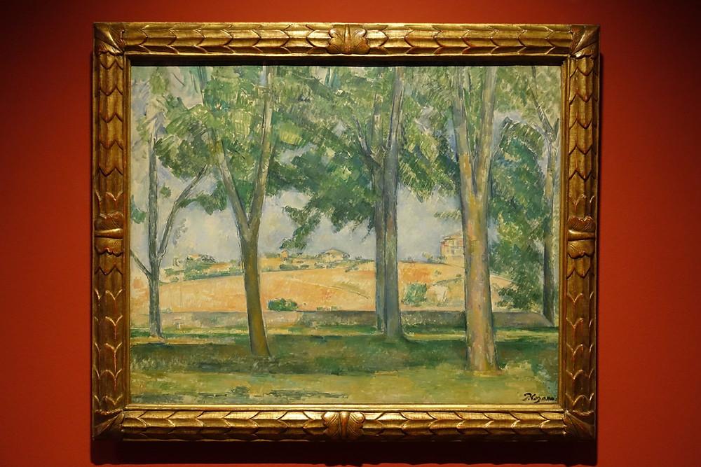 Les Marronniers du Jas de Bouffan (1885) Huile sur toile 65 x 81 cm