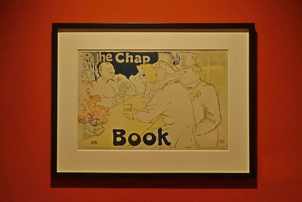 Irish and American Bar, rue Royale - The Chap Book, 1895, lithographie en cinq couleurs sur vélin, 41,2 x 61,8 cm