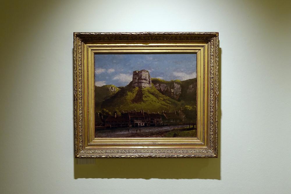 Gustave Courbet - Les ateliers de tréfilerie de la Loue près d'Ornans
