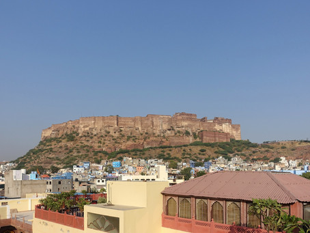 Jodhpur ~ Le fort de Mehrangarh #1