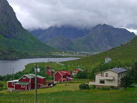 Chez les Vikings ~ Vagabondages sous la pluie