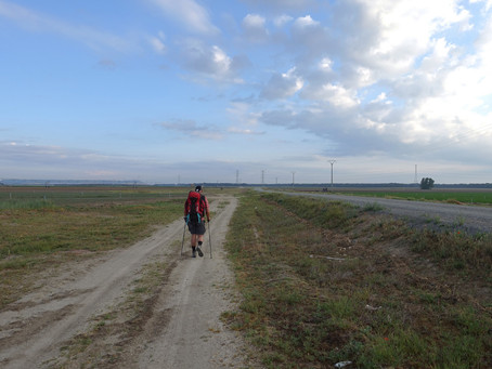 Camino de Madrid ~ J08 Villeguillo → Alcazarén
