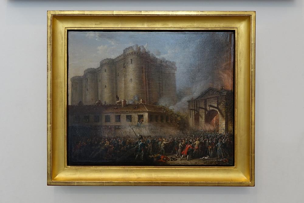 La prise de la Bastille (peintre français ou nordique)