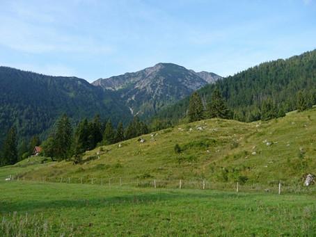 Sur la Deutsche Alpenstraße ~ Randonnée au Hochmiesing