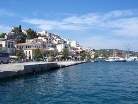 En famille dans l'archipel des Sporades