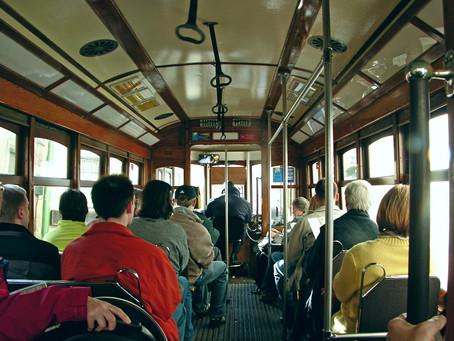 Lisbonne : Le tram de la ligne 28