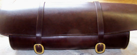 18th Century Oval Valise Stitched Common (6 to the inch)