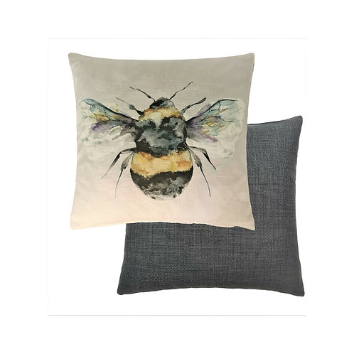 Silver Bee Cushion