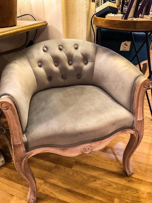 Blue/Grey Louis Tub Chair