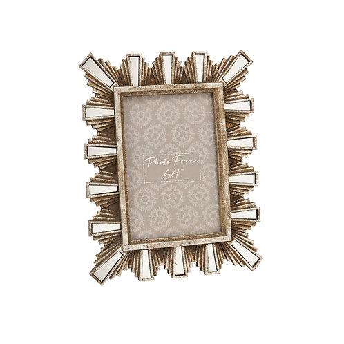 Silver Art Deco Frame