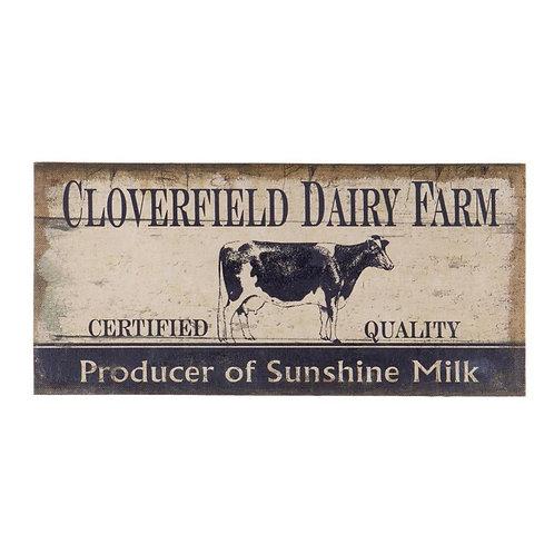 Cloverfield Dairy Wall Decor