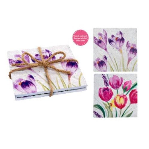 Floral Slate Coasters