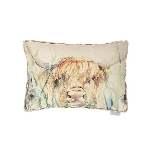 Voyage Bramble Cow Cushion