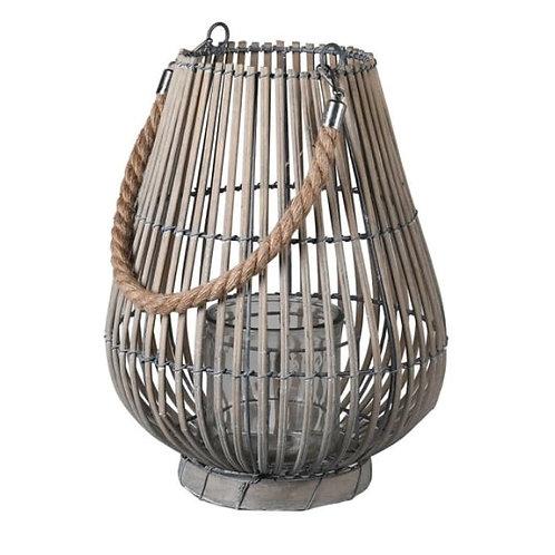 Large Grey Willow Lantern