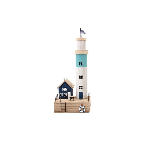 Wooden Beach Lighthouse