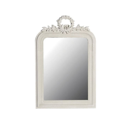 Elegant Wreath Leaf Mirror