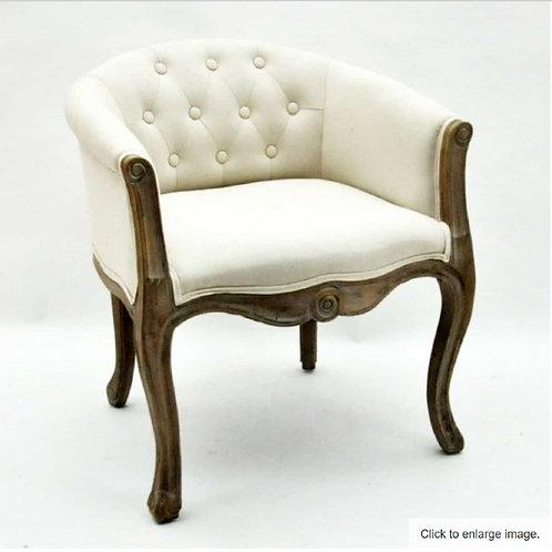 Cream Louis Tub Chair