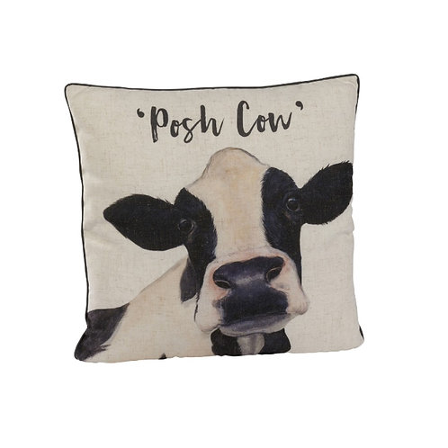 Posh Cow Cushion