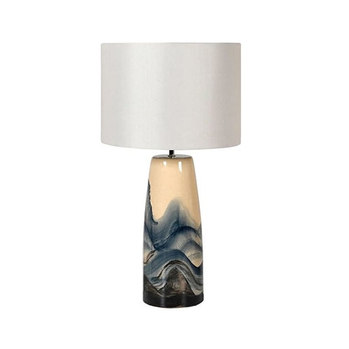 Painted Speckled Lamp