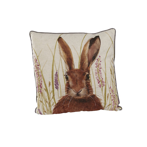 Lavender Hare Cushion