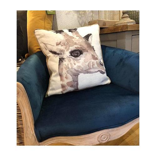 Teal Louis Tub Chair
