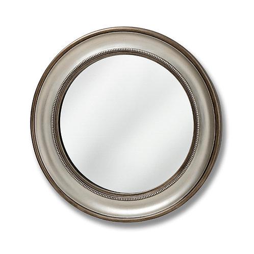 Circular Silver Mirror