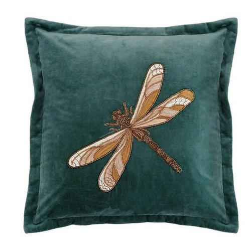 Voyage Dragonfly Cushion Mint