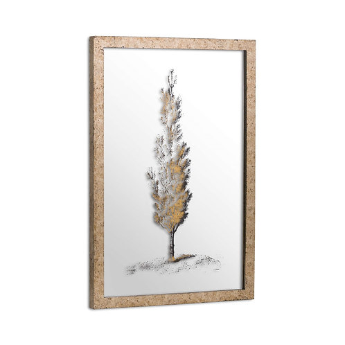 Pine Tree Metallic Picture