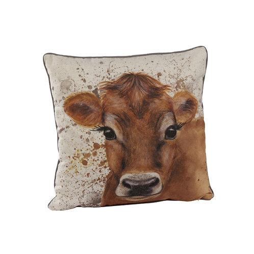 Cow Splatter Cushion