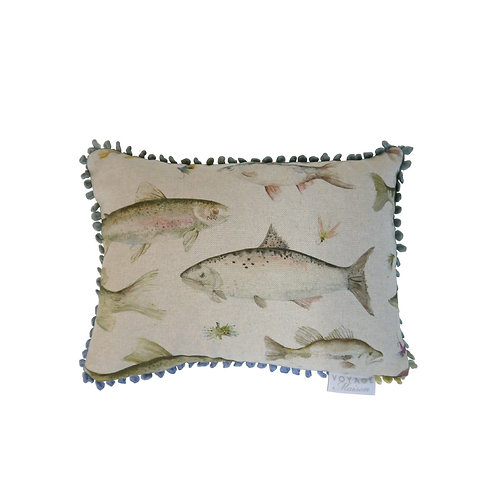 Voyage River Fish Cushion