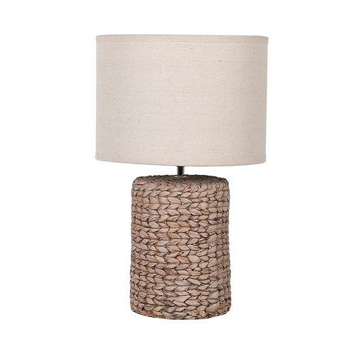 Small Rope Effect Table Lamp