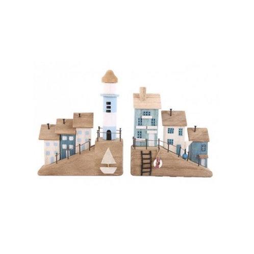 Wooden Beach Houses