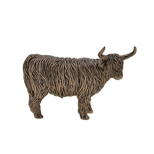 Bronze Highland Cow