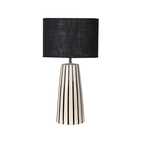 Black & Cream Table Lamp