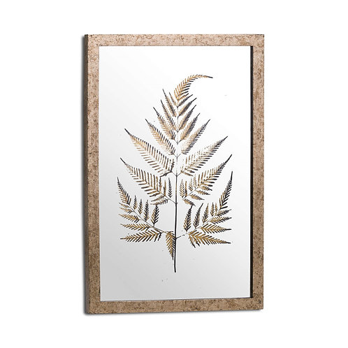 Fern Tree Metallic Picture