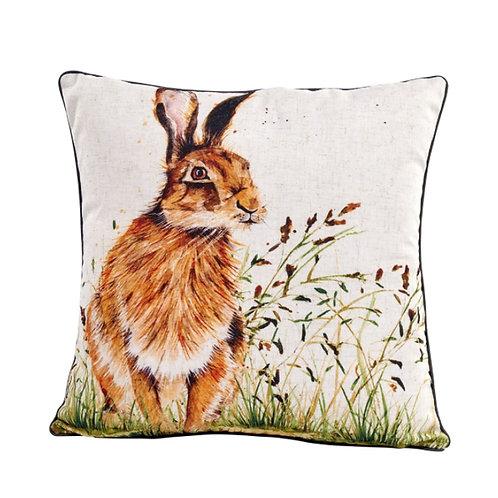 Spring Hare Cushion