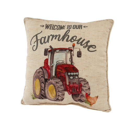 """""""Welcome To Our Farmhouse"""" Cushion"""