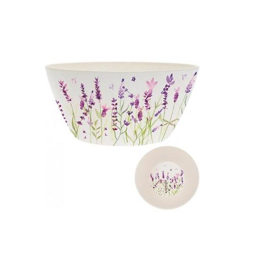 Bamboo Lavender Salad Bowl