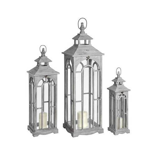 Large Grey Lanterns