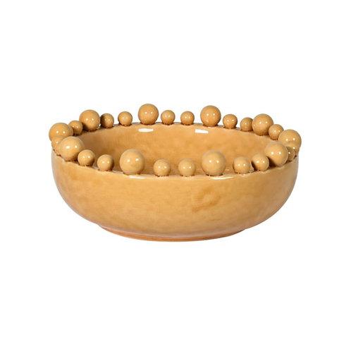 Mustard Bobble Bowl
