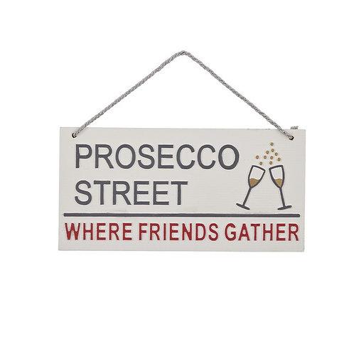 Prosecco Street Plaque