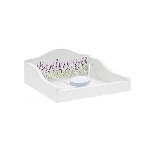 Purple Lavender Napkin Holder