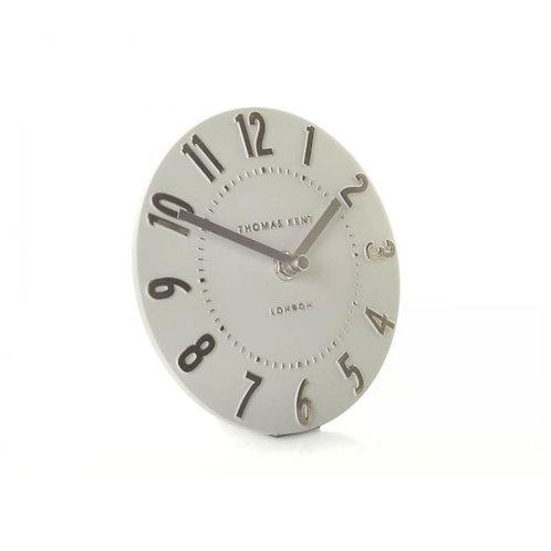Thomas Kent Mantel Clock Chrome